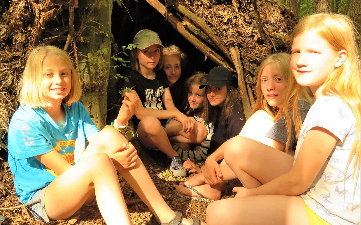 Mondcamp - Mädels unter sich
